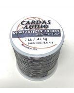 Cardas Quad Eutectic Roll Silver Solder 1lb Roll