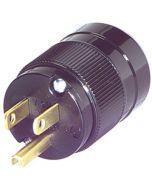 Marinco 5266BL NEMA 5-15 Straight Blade Plug