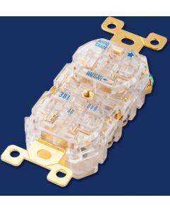 Wattgate 381 evo AU Gold 20A Duplex Outlet / Receptacle