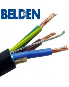 Belden 19364 14 AWG 3-Conductor Power Cable with Drain Wire Type SJT