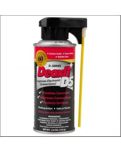 CAIG DeoxIT®® D5 D5S-6 5% Contact Cleaner Spray 5oz Can