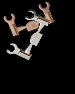 Cardas Bi-Wire Jumper plates CLJP R