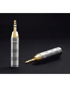 Furutech F35 G Gold Stereo 6.3mm to 3.5mm adapter