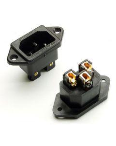 Furutech FI-06 Rhodium 15A IEC Chassis Inlet