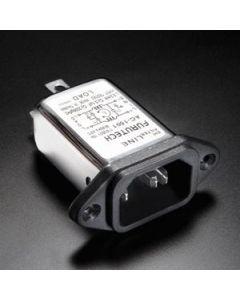 Furutech AC-1501 EMI Filter IEC Inlet Rhodium