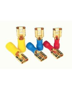 Furutech F-218 Insulated Gold Plated Push-on Terminal RED