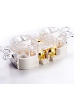 Furutech FPX-G Gold Duplex Receptacle