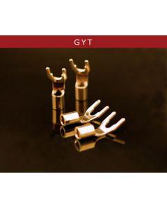 Oyaide GYT 8AWG GOLD Spade