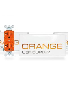 Synergistic Research Orange UEF Duplex Receptacle