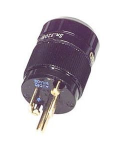 WATTGATE 330i Audio Grade Gold Black Connector Plug