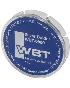 WBT Silver Solder 4% 42gm 10m / 32.8ft roll WBT-0800